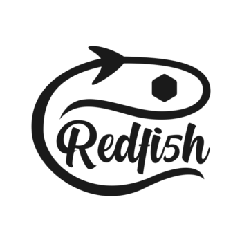 Logo Redfi5h Negro sin Fondo